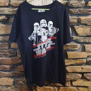 Size 2XL Starwars storm trooper t-shirt